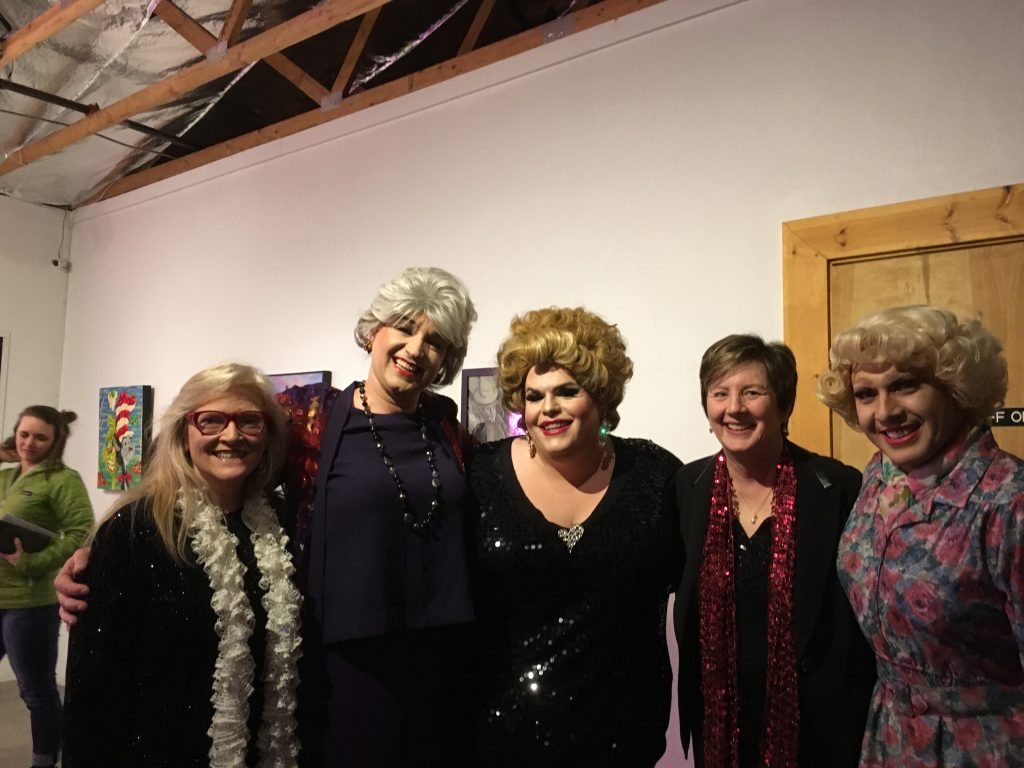 We played for the Golden Girls Xmas at the VAC