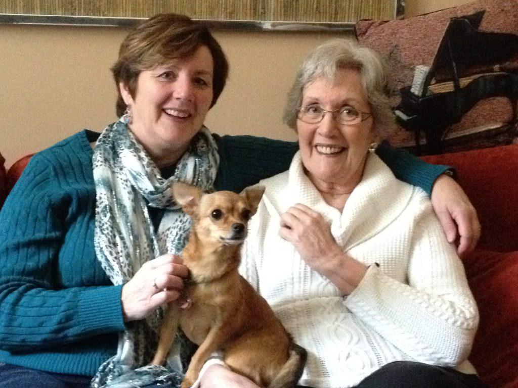 Me, Mom, & Foxy