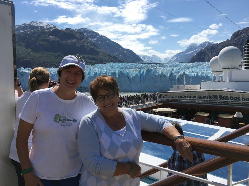 CJ and I in Alaska